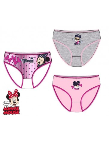 Pack 3 cuecas da minnie