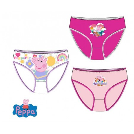 Pack 3 cuecas peppa