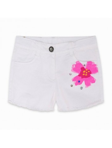 SHORT SARGA STUDS WHITE...