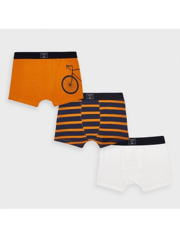 Conjunto 3 boxers bike boy...
